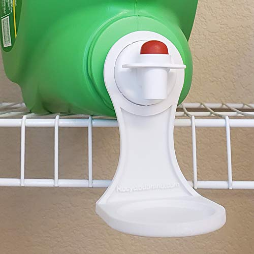 Laundry Detergent or Fabric Softener Cup Holder & Drip Tray Catcher (3D Printed), fits Most Economic Sized Bottles,...