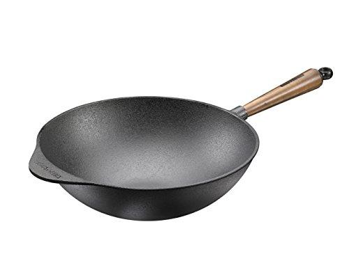 SKEPPSHULT Wokpfanne, Cast Iron, 32 cm