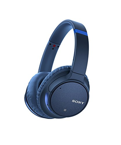 Sony WH-CH700 Cuffie Wireless Over-Ear con Noise Cancelling, Alexa Built-in, Compatibili con Google Assistant e Siri, Batteria fino a 35 Ore, Bluetooth, NFC, Blu