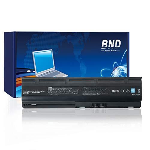 BND Laptop Akku für HP MU06 593553-001 593554-001 593562-001, Compaq Presario CQ42 CQ43 CQ56 CQ57 CQ58 CQ62 CQ72 Pavilion G6 G62 G7 G32 G42 G56 G72 DV7 DV6 DM4 Envy 15 17 Notebook Battery, 6-Zellen