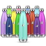 KollyKolla Gourde INOX Isotherme - 500ml, Bouteille d'eau Acier Inoxydable...