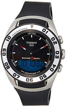 Tissot Sailing-Touch Mens Rubber Strap Multi-Function Watch T056.420.27.051.01