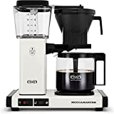 Moccamaster 53933 KBGV Select 10-Cup Coffee Maker, Off-White, 40 ounce, 1.25l