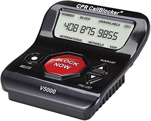 Bloqueur d'appels CPR V5000 pour téléphones fixes. Bloquez instantanément les arnaques et le...