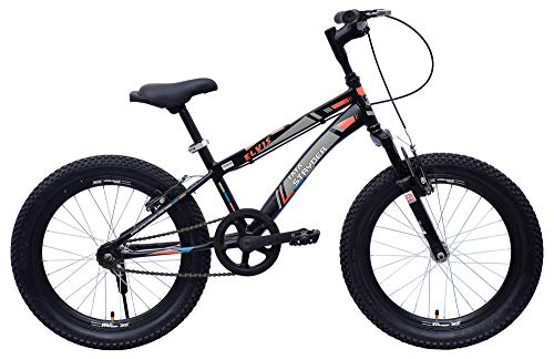 Tata Cyclo India TATA Stryder Elvis 20 T Mountain Bike, 20' Inches (Matt Black Green)