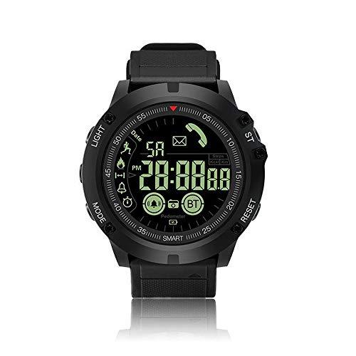 QYLJX Smart Watch Fitness Tracker, Bluetooth 4.0 Sportuhr Wasserdichte Taktische...