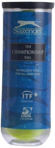 Slazenger Championship Tennis Balls, Pack of 3