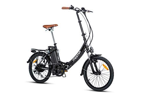 Moma Bikes E- Bike 20.2 Bicicleta Plegable electrica, Adultos Unisex,...