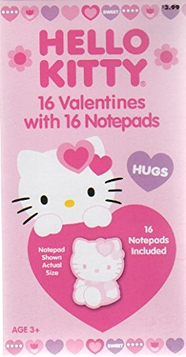 Hello Kitty Valentine Cards For Kids Wit Buy Online In Aruba At Desertcart