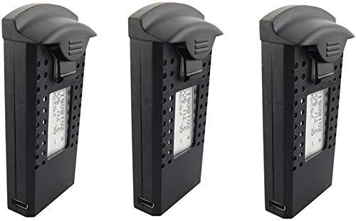 Fytoo 3PCS 3.7V 900mah LiPO Batteria per SG700 DM107S S169 Pieghevole Quadcopter Pezzi di Ricambio...