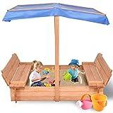 Costzon Kids Foldable Wooden...