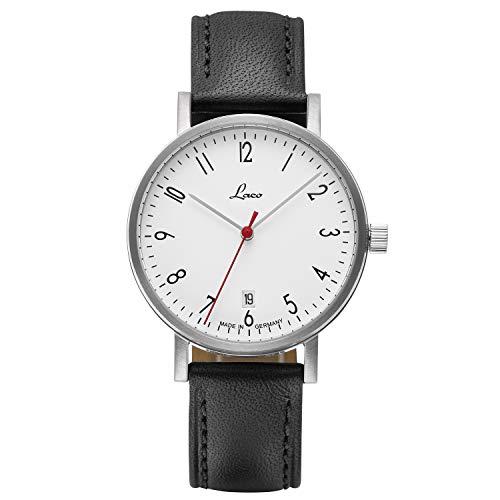 Laco Damen Armbanduhr Halle, Ø 38mm – Made in Germany – hochwertige Automatikuhr – Einzigartige Qualität. Herausragende Verarbeitung – Wasserdicht im zeitlosem Design – seit 1925 (Damen)