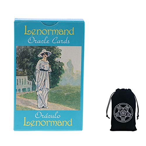 NLZNKZJ Lenormand Oracle Cards Tarot Deck With PRINTED Guide...