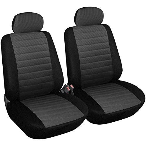 WOLTU 7231-2 Set Coprisedili Anteriori Auto 2 Posti Seat Cover Protezioni Universali per Macchina...