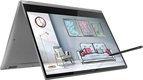 """2019 Lenovo Yoga C930 2-in-1 13.9"""" FHD Touch-Screen Laptop - Intel i7, 12GB DDR4, 512GB PCIe SSD, 2x Thunderbolt 3, Dolby Atmos Audio, Webcam, WiFi, Active Pen, 3 LBS, 0.6"""", Windows 10, Iron Gray"""