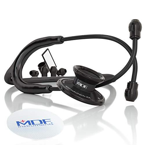 MDF Acoustica Lightweight Stethoscope, Adult, Dual Head,...