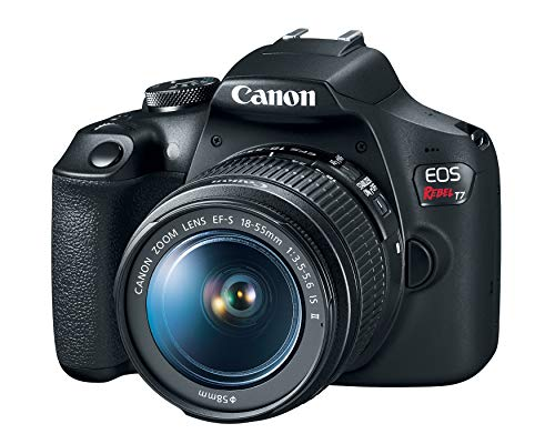 Canon EOS Rebel T7 DSLR Camera with 18-55mm Lens | Built-in...