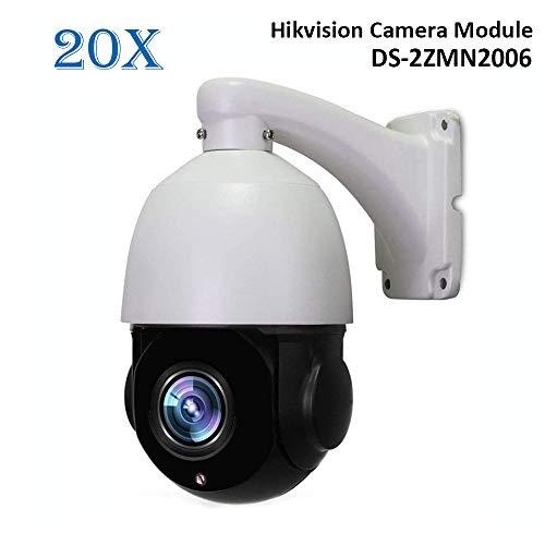 LEFTEK 960P 20X Zoom ottico PoE Telecamera dome PTZ PTZ Videocamere di Sorveglianza CCTV esterna con Hikvision DS-2ZMN2006 Module