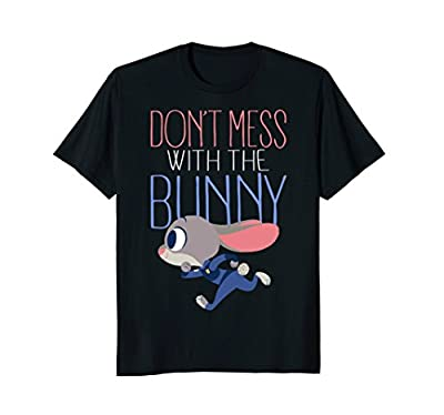 Officially Licensed Disney Zootopia Tee Shirt 18PXZT00006A Lightweight, Classic fit, Double-needle sleeve and bottom hem