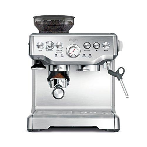 Sage SES875BSS2EEU1A - Barista Express, macchina per caffè espresso, cappuccinatore, 15 bar,...