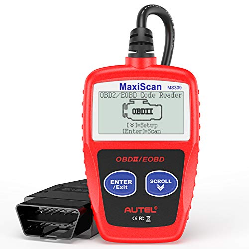 Autel MaxiScan MS309 Universal OBD2 Scanner Engine Light Fault...