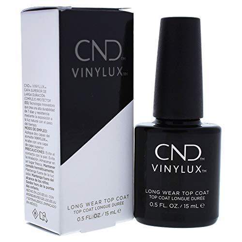CND Vinylux Longwear Top Coat, 0.5 fl oz, Nail Polish for Brilliant Shine