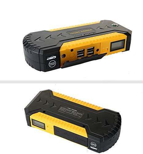 SHXN Jump Starter 88000mAh Multifunzione caricabatteria per Auto avviamento Batteria 4USB LED Luce Auto Emergenza Mobile Kit Banca di Potere 600A