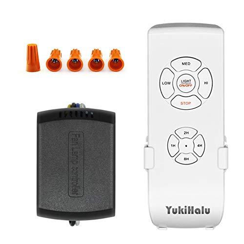 YUKIHALU - Kit di Telecomando Universale per Ventilatore da Soffitto, Super Piccole Dimensioni, con...