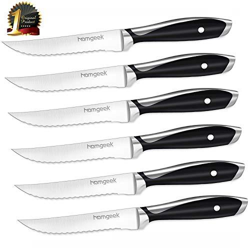 German X50Cr15 Stainless Steel Steak Knives