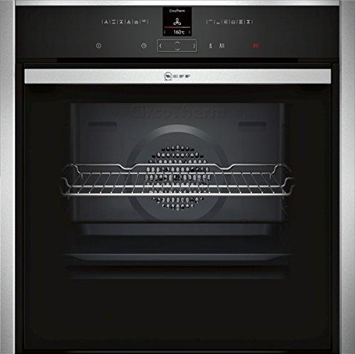 Neff B57CR22N0 forno Forno elettrico 71 L 3650 W Nero, Acciaio inossidabile A+