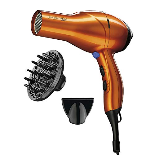 INFINITIPRO BY CONAIR 1875 Watt Salon Performance AC Motor Styling Tool/Hair Dryer; Orange