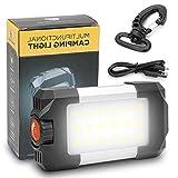 REEXBON Outdoor LED Camping Lantern avec USB Rechargeable Banque de...
