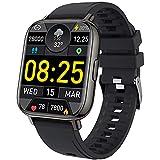 """Smartwatch, mebossco 1.69"""" Orologio Fitness Uomo Donna, Impermeabil IP68 Fitness Tracker, Smart Watch con Cardiofrequenzimetro Contapassi, Notifiche Messaggi, Sportivo Activity Tracker per Android iOS"""