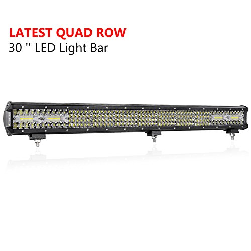 30 Inch LED Light Bar, OFFROADTOWN 496W...