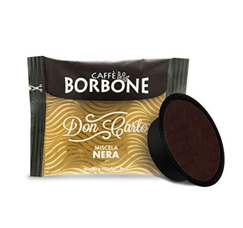 Caffè Borbone Don Carlo, Miscela Nera - 100 Capsule, compatibile Lavazza A Modo Mio