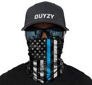 OUYZY Neck Gaiter, Headwear, Face Sun Mask, Magic Scarf, Bandana, Balaclava, Headband for Cycling, Fishing, Hunting, Motorcycling, Running, Skateboarding, Moisture Wicking UV Protection