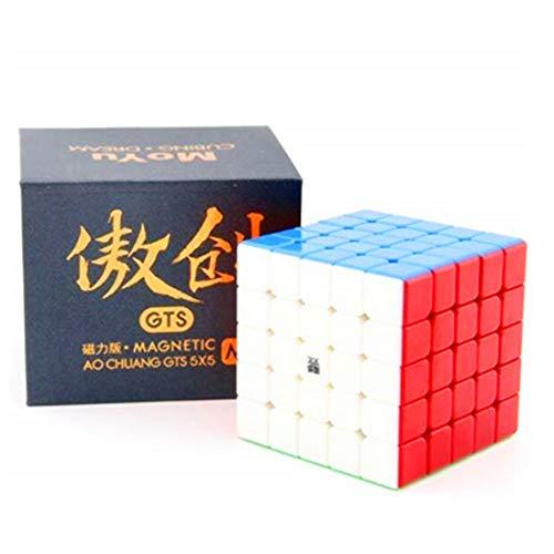 CuberSpeed Moyu Aochuang GTS M 5X5 stickerless Magic Cube Moyu Aochuang gts...