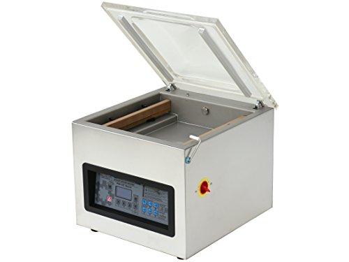 Kammer Vakuumiergerät mit Edelstahlgehäuse, Industrie-Vakuumpumpe, innenliegenden Schweißbalken und Digitalpanel, PM-VC-400-T