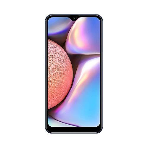 Samsung Galaxy A10s A107M - 32GB, 6.2' HD+ Infinity-V Display, 13MP+2MP Dual Rear +8MP Front Cameras, GSM Unlocked Smartphone - Blue