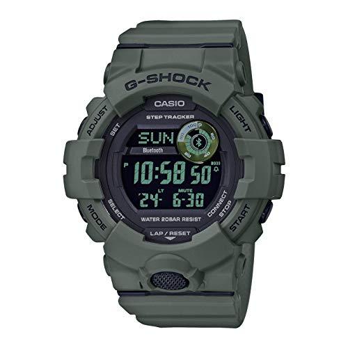 CASIO Herren Digital Quarz Uhr mit Resin Armband GBD-800UC-3ER