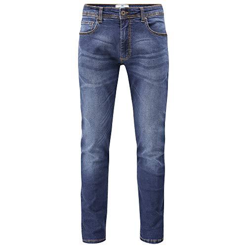 Charles Wilson Jeans Slim Fit Denim Slavati (32' Waist / 31' Leg, Stone Wash)