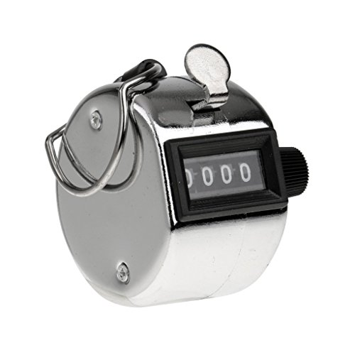 Lista 4 Digits Hand Held Tally Counter Numbers Clicker
