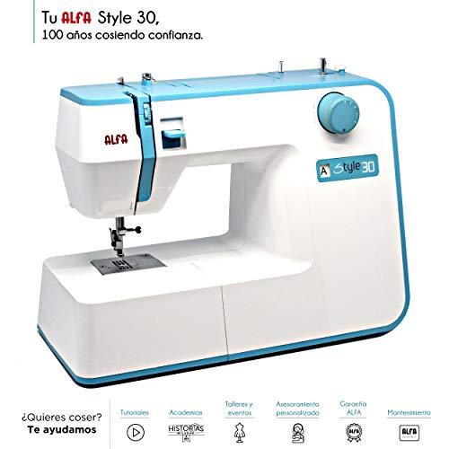 Ofertas maquina de coser alfa style 30 - Compra barato en