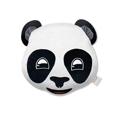 Emoji- Cojín Bordado Panda Oficial, Estampado (PIW EB