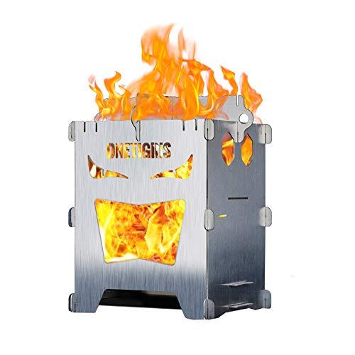 OneTigris Foldable Wood Burning Backpacking Stove