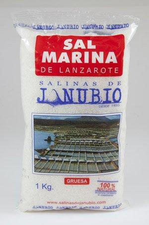 Salinas de Janubio Grobes Meersalz, Lanzarote - 1000 g gruesa