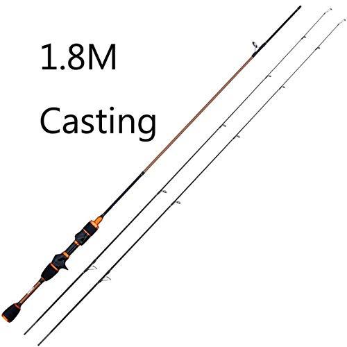 gousheng Set di Canne da Pesca, Set Completo Combinato di Canne da Pesca Telescopiche, con Gancio per Esca, Utilizzato per La Pesca d'Acqua Dolce in Mare