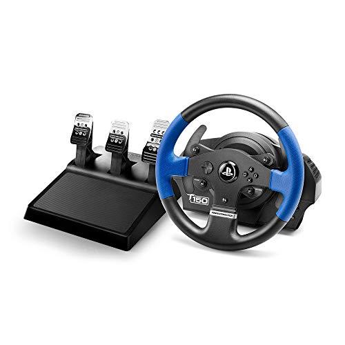 Thrustmaster T150 Pro volante de carreras ergonómico con un juego de 3 pedales - Compatible con PS4...