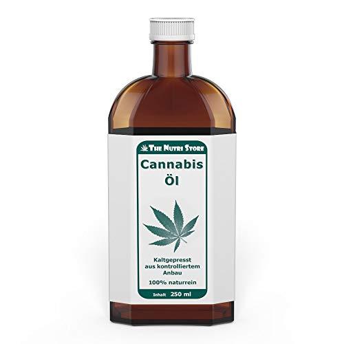 Cannabis Öl 250 ml - kaltgepresst - 100 % naturrein