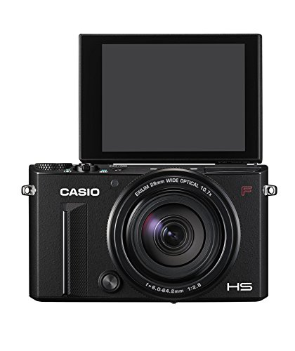 CASIO デジタルカメラ EXILIM EX-100FBK 60枚/秒の高速連写 全域F2.8光学10.7倍ズームレンズ プレミアムブラケティング EX100F ブラック